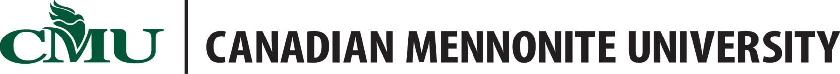 Logo of Canadian Mennonite University