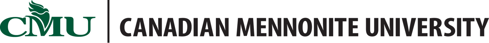 Logo de Canadian Mennonite University